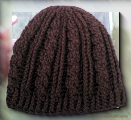Free Cable Hat Knitting Pattern With Matching Scarf